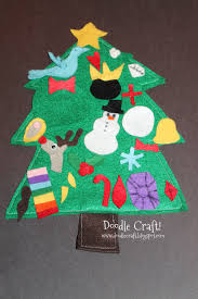 felt christmas tree for kids christmas lights decoration
