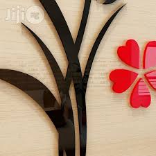 Vase Wall Decor Diy Acrylic Flower Vase Wall Decor For Sale In Agege Buy Home