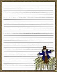 Thanksgiving Stationery Free Printable Thanksgiving Stationery Primary Lines By Brenda Barron