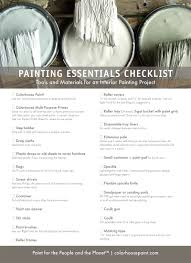 painting essentials tools and materials for your project
