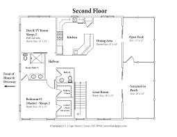 house floor plan u2013 8 sandpiper