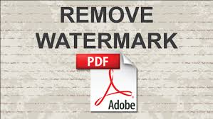 resume paper without watermark remove watermark from pdf youtube