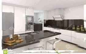 modele cuisine blanche cuisine moderne blanche