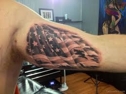 Ripped American Flag Tattoo Checkered Flag Tattoo Tattoo Collections