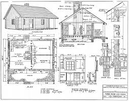 cabin plan small cabin plans