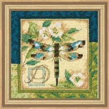 dimensions dragonfly needlepoint kit