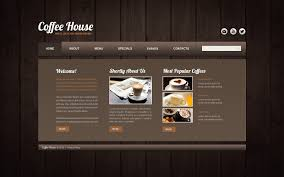 coffee shop website templates