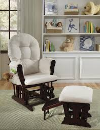 Rocking Chair Scary Pop Up Amazon Com Status Roma Glider And Nursing Ottoman Cherry Beige Baby