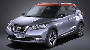 nissan kicks nissan kicks 2017 3d model turbosquid 1165770