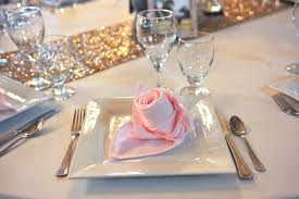 place settings guest table service packages table top service rentals place