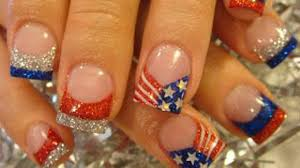 cute 4th of july nail designs to show your american pride