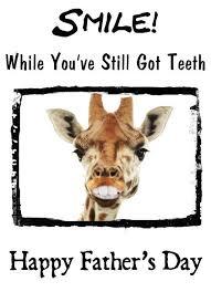 s day giraffe giraffe smile teeth humour a5 happy s day greeting card