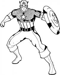 captain america coloring pages teenage boys 56142