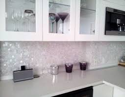 porcelain tile backsplash kitchen swanky found itin this hexagon pattern broken up into smaller