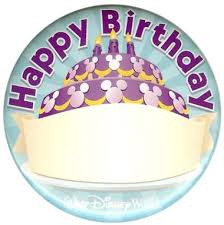 it s your special day plate disney birthday pin dole