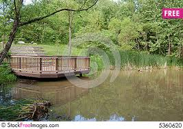 wood deck on a lake free stock images u0026 photos 5360620