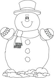snowman coloring pages pdf snowman coloring template cute snowman coloring pages preschool in