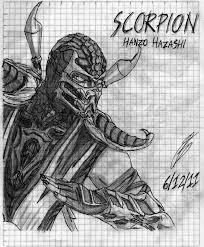 scorpion the mortal kombat by eddie lozano on deviantart