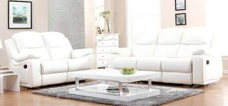 White Leather Recliner Sofa Low Living Power Reclining Sofa And Sets Low Sofa Set White