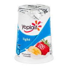 yoplait light yogurt ingredients yoplait light yogurt strawberries n bananas 1 grocery delivery