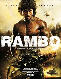first look at rambo poster indian remake coming in 2018 indiewire