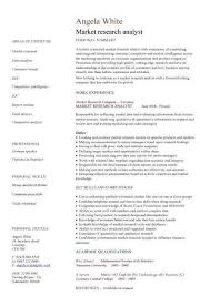 sample resume for research analyst research analyst resume