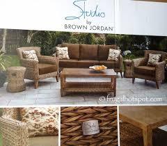 Brown Jordan Patio Set by Studio By Brown Jordan 6 Piece Seating Set Costco Frugalhotspot