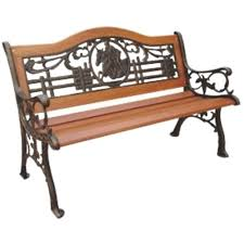 Wrought Iron Patio Furniture Home Depot - cast iron parkland heritage outdoor benches patio chairs