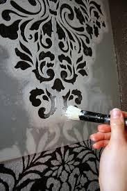 marvelous design stencils for walls acanthus trellis wall stencils