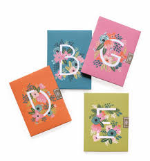 monogram stationery monogram stationery by rifle paper co made in usa