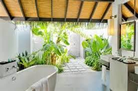 garden bathroom ideas light open design bathroom features a unique garden spa space