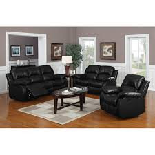 3 piece reclining living room set living room