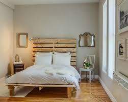 chambre palette des idées de lit fabriqué à partir de palette bricobistro