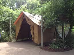 tent building camp tents tent city canvas house