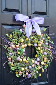 easter wreath spring door wreath spring wreath easter egg