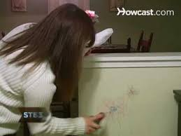how to clean wall stains how to clean crayon marks off painted walls youtube