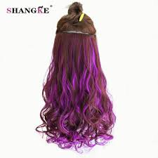 Color Extensions For Hair by Curly Hair Color Extensions Clip Promotion Shop For Promotional
