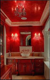 Luxury Bathroom Ideas Colors 133 Best Color Red Rooms U0026 Decor Images On Pinterest Red Rooms