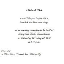 wedding invitation wording from bride and groom dancemomsinfo com