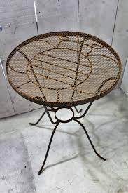 Patio Furniture Metal - wrought iron bumblebee chair metal seating patio furniture