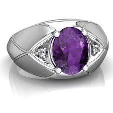 rings with amethyst images Amethyst men 39 s rings in 14k gold jpg
