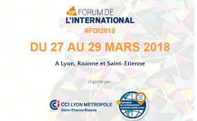 chambre du commerce et de l industrie lyon save the date 10e forum de l international du 27 au 29 mars