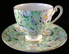 shelley rock garden gold chintz ripon bone china tea cup and