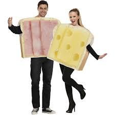 funniest halloween couples costumes ham and swiss halloween costume walmart com
