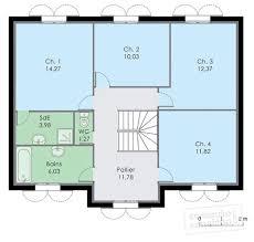 plan 4 chambres plain pied superb plan maison 80 m2 plain pied 5 plan maison 4 chambres 1