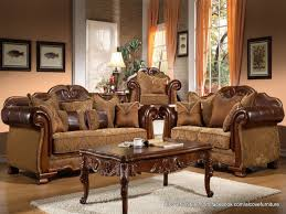 traditional leather living room furniture classic traditional