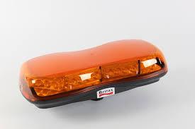 warning light bar amber britax a481 00 ldv low profile led strobe beacon light bar single