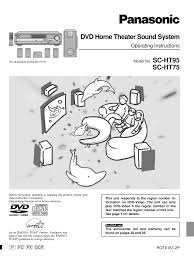 download free pdf for panasonic sa dp1 home theater manual