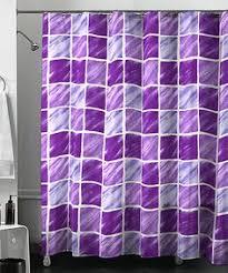 Purple Shower Curtain Sets - purple fabric shower curtain purple velvet print bath mat and