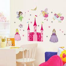 28 fairy princess wall mural walltastic fairy princess kids fairy princess wall mural removable vinyl mural wall sticker fairy princess castle